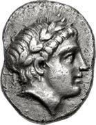 Drachm (Gargara) – avers