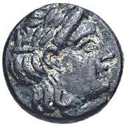 Bronze Æ9 (Gargara) – avers