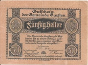 50 Heller (Garsten) -  avers