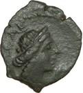 VOLQUES ARÉCOMIQUES (région de Nîmes) Bronze au Démos, VOLCAE arec – avers