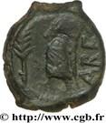 VOLQUES ARÉCOMIQUES (région de Nîmes) Bronze au Démos, VOLCAE arec – revers