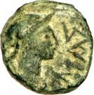 Bronze au caducée (Massalia) – avers
