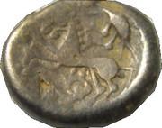 Statère au triskèle, type de Chenôves (Aedui) – revers