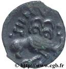 """Bronze """"GIAMILOS / SIINV"""" à l'oiseau (Senones) – revers"""