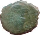 Bronze au cheval retourné (Pictones) – avers