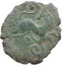Bronze au cheval retourné (Pictones) – revers