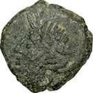 NEMAUSUS - NÎMES - Bronze au sanglier NAMA SAT – avers