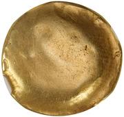 Statère d'or uniface au cheval à droite (Ambiani) – revers