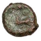 Bronze au cheval galopant à gauche (Suessiones) – revers