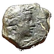 Petit bronze à la Victoire - Antipolis - Antibes – avers