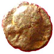 Petit bronze à la victoire (Antipolis, Antibes) – avers