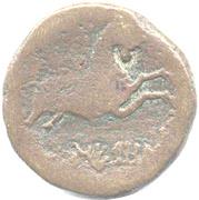 As NERONKEN au taureau (Élisyques, oppidum de Montlaurès) – revers