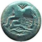 Bronze MATUGIINOS ou MATUGENOS (Leuci) – revers