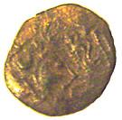 ¼ de statère d'or (Osismes) – avers