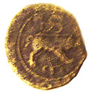 """bronze """"ANNICOIOS"""" - Santons (Région de Saintes) – revers"""