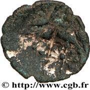 Quart de statère d'or fourré d'Armorique – revers