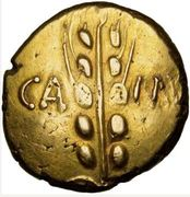 Statère d'or - BRETAGNE - CATUVELLAUNI et TRINOVANTES – avers