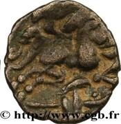 Quart de statère à l'hippophore  (Namnètes - région de Nantes) – revers