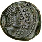 """Bronze """"PIXTILOS"""" au cavalier (Carnutes) – avers"""