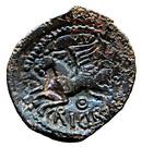 Bronze CRICIRV type barbu (Suessiones) – revers