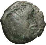 PAGUS CATUSLUGI - Sanctuaire de BOIS L'ABBÉ (Seine-Maritime) Bronze VIIRICIVS, classe IV – avers