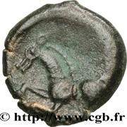 PAGUS CATUSLUGI - Sanctuaire de BOIS L'ABBÉ (Seine-Maritime) Bronze VIIRICIVS, classe IV – revers