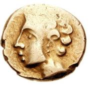 Statère de Vercingetorix (Arverni) – avers