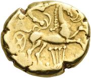 Statère au cheval à droite (Arverni) – revers