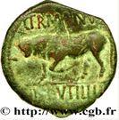 Bronze GERMANVS INDVTILLI au taureau cornupète (REMI) – revers
