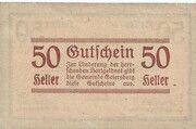 50 Heller (Geiersberg) – revers