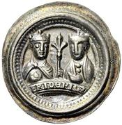 1 Brakteat - Friedrich I. – avers
