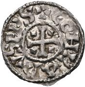 1 Denier - Konrad (Bishopric of Geneve) – avers