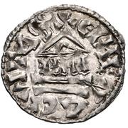 1 Denier - Konrad (Bishopric of Geneve) – revers