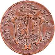 5 centimes – avers