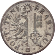 4 centimes – avers