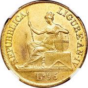 96 Lire (Ligurian Republic) -  avers