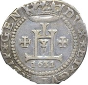 ¼ scudo - Conrad II – avers