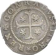 ¼ scudo - Conrad II – revers