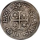 1 scudo - Conrad II – revers