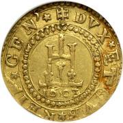 1 doppia, 2 scudi - Conrad II – revers