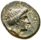Bronze Æ14 (Gentinos) – avers