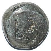 Colchain Tetri (II Type Hemidrachm) – avers
