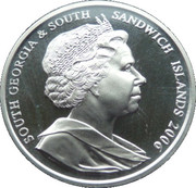 2 Pounds - Elizabeth II (1953 Royal family portrait) – avers