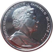 2 pounds - Elizabeth II (4eme effigie; pingouin de Rockhopper) – avers