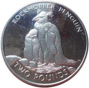 2 pounds - Elizabeth II (4eme effigie; pingouin de Rockhopper) – revers