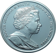 2006 - 80 YEARS QUEEN ELIZABETH THE SECOND 2 POUNDS – avers