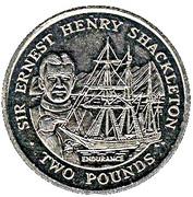 2 livres Ernest Henry Shackleton – revers