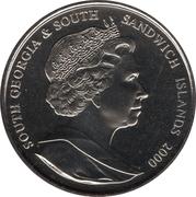 2 livres 100 ans de la reine mère – avers