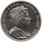2 pounds - Elizabeth II (4eme effigie - Sir Ernest Shackleton) – avers