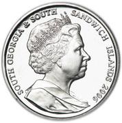 2 pounds - Elizabeth II (4eme effigie; Elephant de mer) – avers